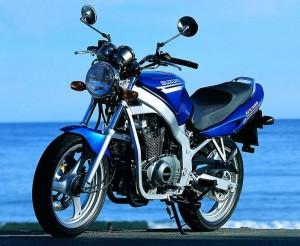 "En ""riskoger"" - Suzuki 500 GS - en rigtig ""damecykel"""